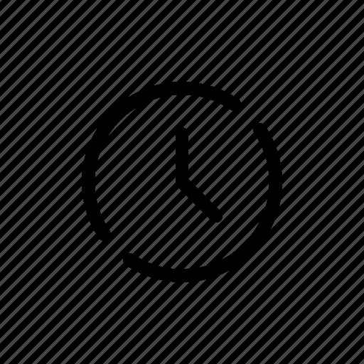 app, clock, mobile, open line, schedule, time, ui icon