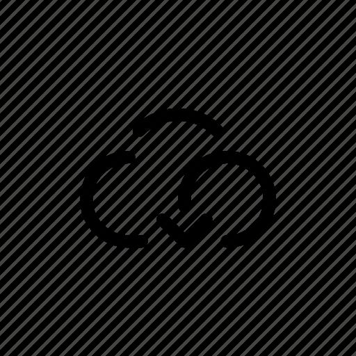 app, backup, cloud, mobile, open line, storage, transfers icon