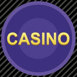 casino, gamble, game, poker chip icon