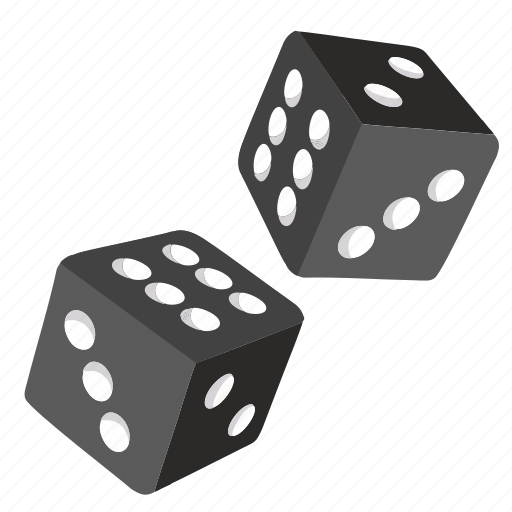 dice, gamble, game, roll icon