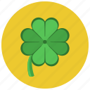 clover, gambling, lucky icon
