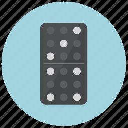 casino, domino, gambling, game icon