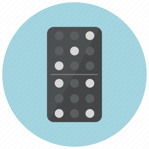 casino, domino, gambling, game icon