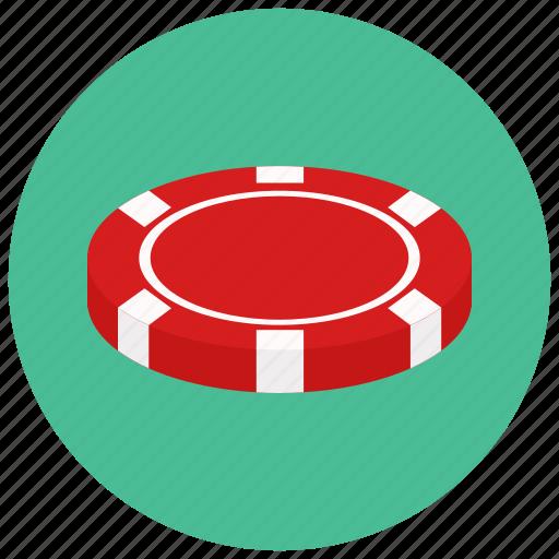casino, chip, gambling icon