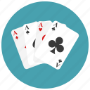 cards, casino, gambling, playing icon