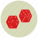 casino, dice, gambling, playing icon