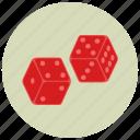 gambling, casino, dice, playing