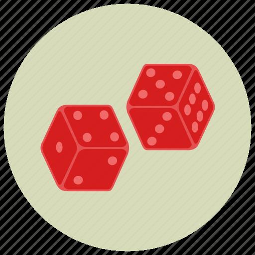 casino, dice, gambling, playing icon
