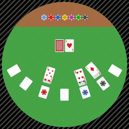 card, gambling, game, poker icon