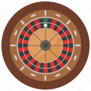 casino, chance, gambling, roulette icon