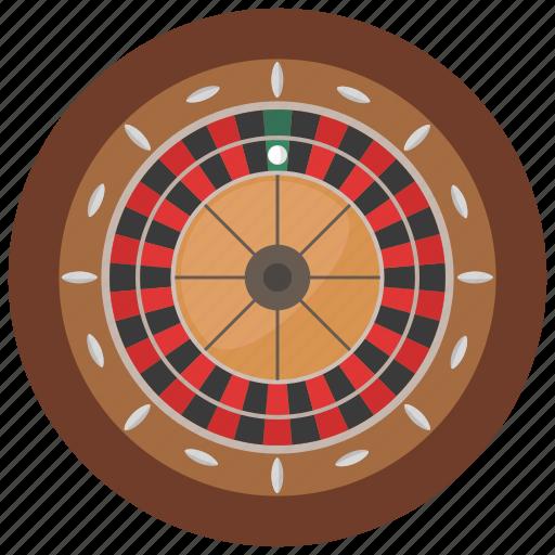 casino, chance, gambling, roulette icon