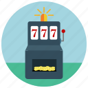casino, gambling, machine, slot icon