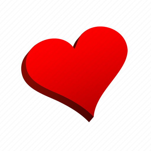 card, casino, game, hearts, poker, slot icon