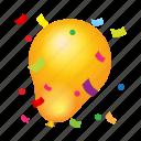 achievement, ballon, casino, game, happy, party, win