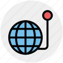 global, globe, lucky, world machine icon