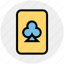 casino card, play card, poker, poker card, poker club, poker element, poker symbol icon