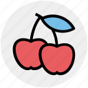 apples, casino, eating, gambling, game, healthy food icon