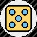 board game, casino, craps, dice, gambler, gambling icon