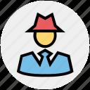casino, croupier, gambler, gambling, game master, player icon