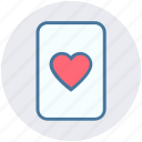 casino card, play card, poker, poker card, poker element, poker heart icon