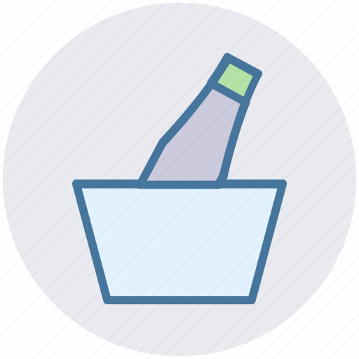 Alcohol, beer, beer bucket, drink, fresh beer, iced beer icon - Download on Iconfinder