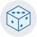 board game, casino dices, cubes, dices, gambling, game icon