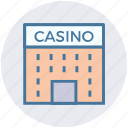 architecture, building, casino, gambling, game, object