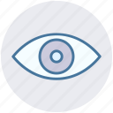 eye, eyes, show, view, visibility, watch icon