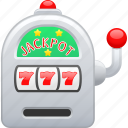 bet, betting, casino, gambling, slot machine, slots icon