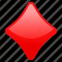 diamond, gambling, playing cards, rhombus, symbol