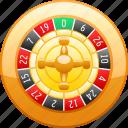 bet, betting, casino, gambling, roulette, roulette wheel, wheel icon