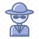 detective, rascal, swindler