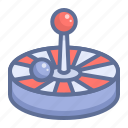 casino, gambling, roulette icon