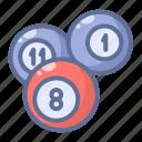 balls, billiard, pool