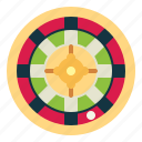 casino, gambling, roulette, gamble icon