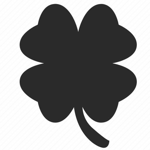 clover, gamble, game, mark, plant icon