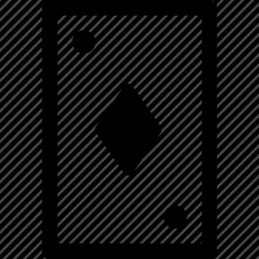 card, casino, diamond, gamble, poker icon