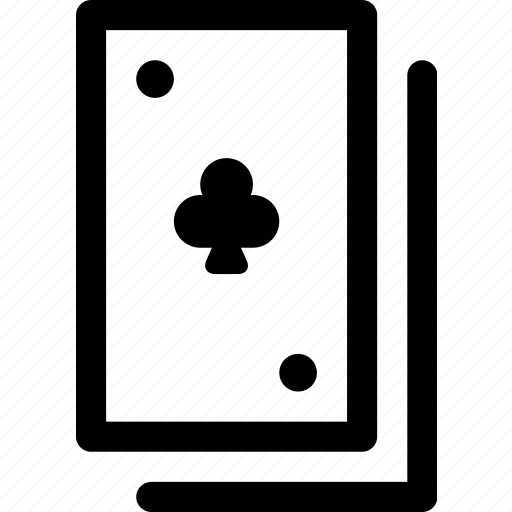 cards, casino, clubs, gamble, hand, poker, suit icon