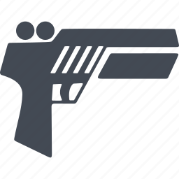 air gun, game, pistol, sport icon