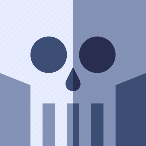 action, game, horor, mystery, skull icon