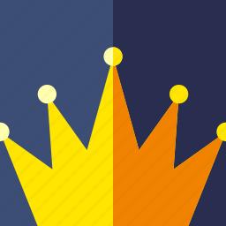 crown, game, king icon