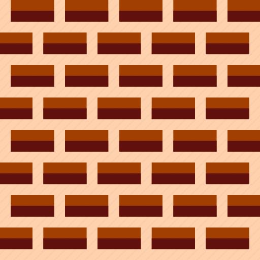 brick, defense, fortress, game icon