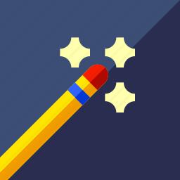 editing, game, magic wand icon