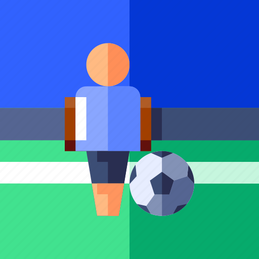 foot ball, game, sport, table soccer icon