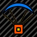 battlefield, battleground, game, gaming, item, parachute, player