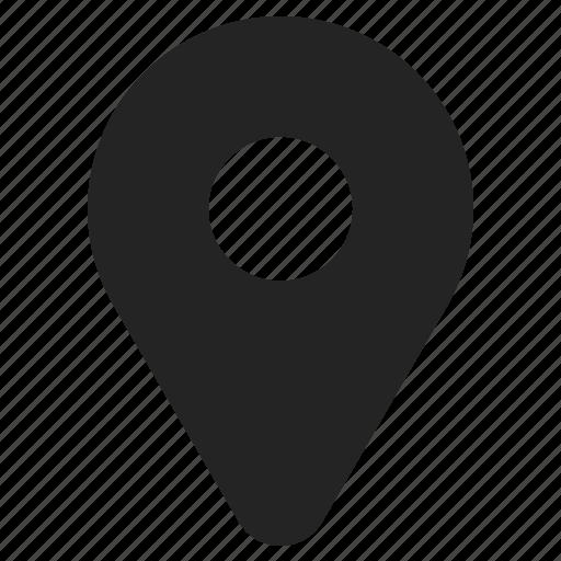 Marker Navigation Pin Icon