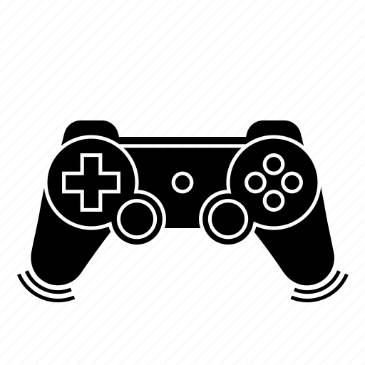 controller, game, joystick, play, player, vibration icon