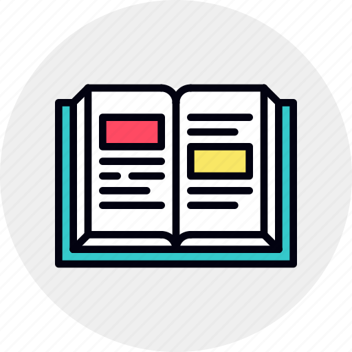 author, book, guideline, open, story, storytelling icon