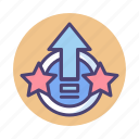level, level up, up icon