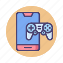 game, mobile, mobile game, mobile gaming icon